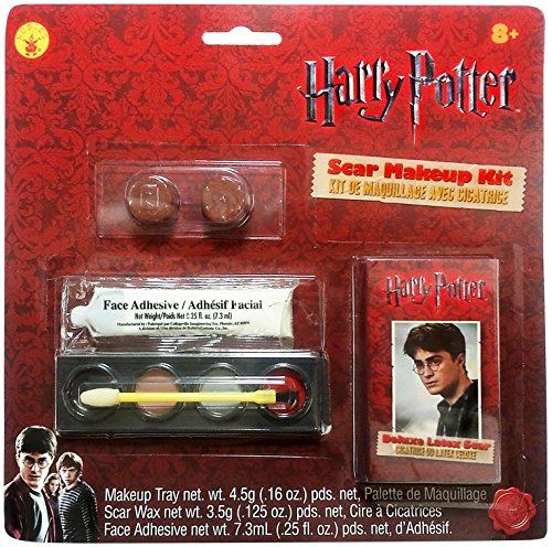 Rubies Costume Company Mens Harry Potter Scar & Makeup Kit - 1