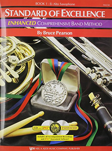 PW21XE - Standard of Excellence Enhanced Book 1 Alto...