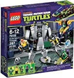 LEGO 79105 Mutant Ninja Turtles Baxter Robot Rampage Lego Mutant Ninja Turtles