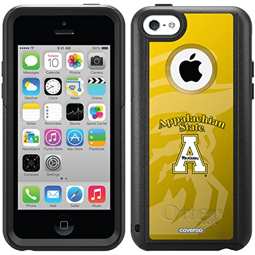 Appalachian State Watermark Design On A Black Otterbox® Commuter Series® Case For Iphone 5C
