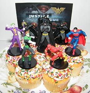 Justice League Cake Decorating Kit : Amazon.com: Batman, Superman, Justice League of America ...