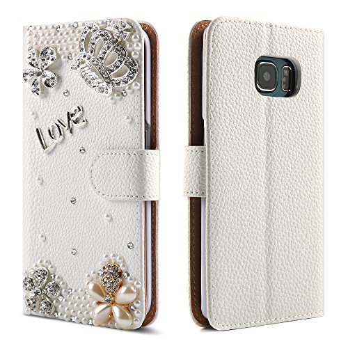 for-samsung-galaxy-s6-edge-case-boriyuanr-bling-crystal-crown-rhinestone-flower-pearl-diamond-design