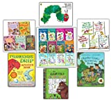 Various The Very Hungery Caterpillar Children Collection School Picture Flat Job Lot 26 Books Set (Very Hungry Caterpillar, Tyrannosaurus Drip Activity, Gruffalo Colouring, Charlie Cook's Favourite, Colin West, How to Draw 101, Doodles, Let's Draw, Origa