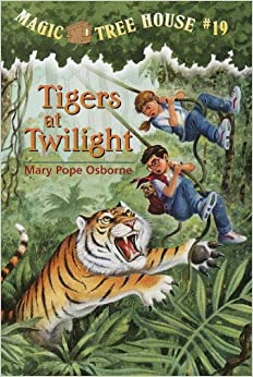 tigers at twilight book report A fun, engaging, 26-page booklet-style novel study complete with a challenging, book-based word jumble and word search based on mary pope osborne's 'magic tree house #19: tigers at twilight.