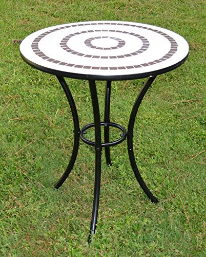Mosaic Ring Bistro Table Product SKU: PF10302T
