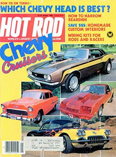 Hot Rod Magazine January 1983
