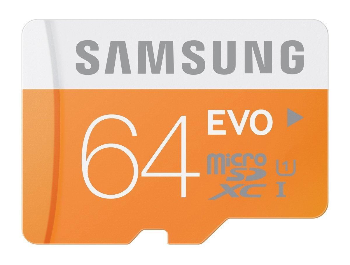 Samsung 64gb EVO Micro SD Card Class 10 MicroSDXC UHS-1 48MB/S летняя шина kumho ecsta ps31 205 45 r16 87w