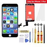 Goldwangwang LCD 3D Touch Screen Digitizer Display Replacement Fully Compatible Frame Assembly Exquisite Repair kit & Tempered Glass Screen Protector