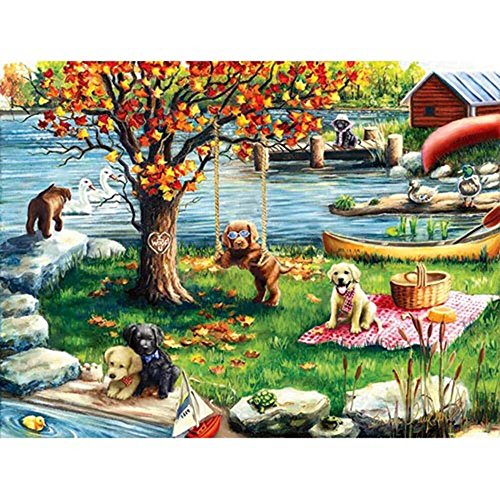 Puzzle Collector Art 500 Piece Puzzle - First Fall - 1