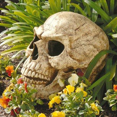 Progettazione Toscano CL5054 Gloomy Simon Big Skull Scultura