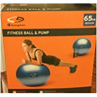C9 Champion Core 65cm Fitness Ball with H. Pump (Blue)