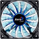 Aerocool Shark Blue Edition EN55468 Ventilateur LED 140 mm