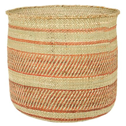 Image of Woven African Iringa Storage Basket - Large