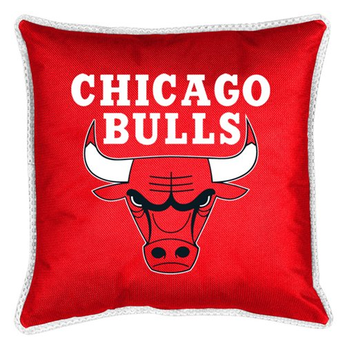 Chicago Bulls SIDELINES Jersey Material Toss Pillow at Amazon.com