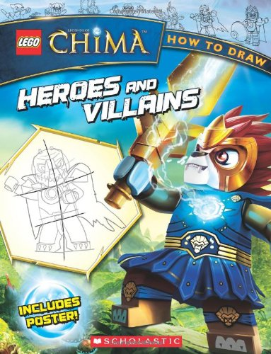 LEGO Legends of Chima: How to Draw: Heroes and Villains (Draw Lego compare prices)