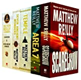 Matthew Reilly Matthew Reilly 5 Books Collection Set RRP £35.95 (Scarecrow, Area 7, Temple, Seven Ancient Wonders, Scarecrow & Seven Ancient Wonders)