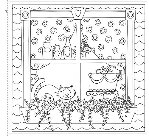 Life Is Delicious: A Coloring Book for Grown-up Girls