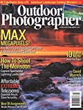Search : Outdoor Photographer (1-year auto-renewal)