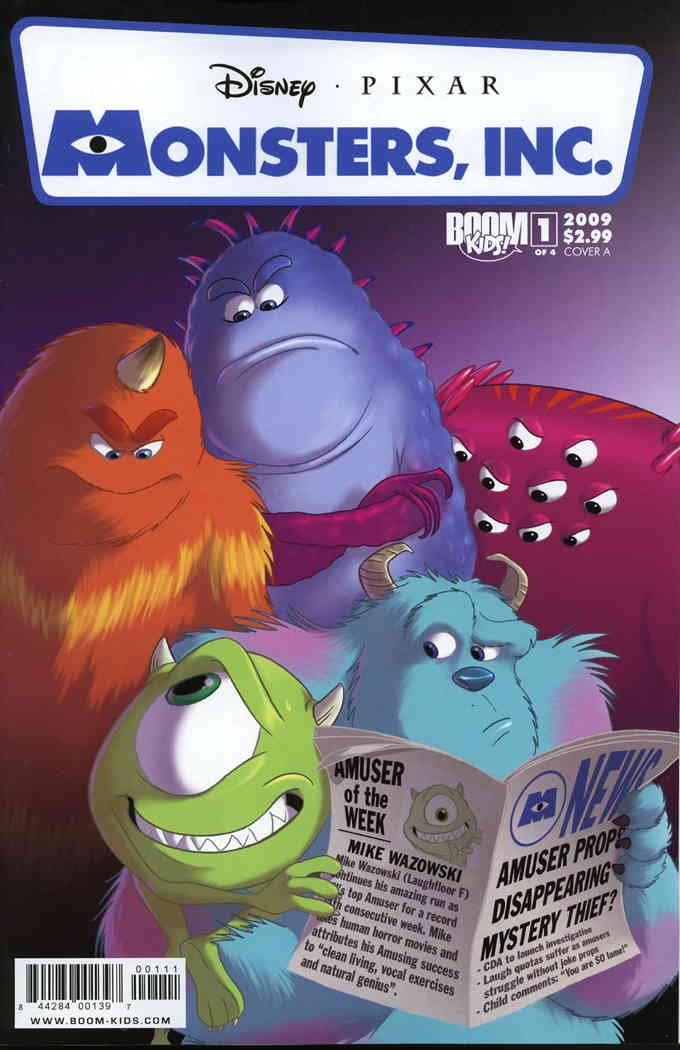 Buy Monsters Inc Comic Book Now!