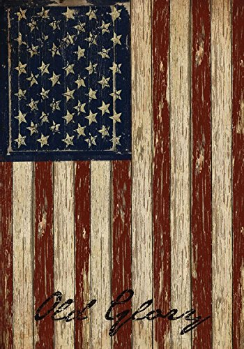 Old Glory Patriotic House Flag Vintage American Flag 28