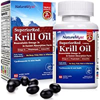 NatureMyst 1250mg Professional Grade Krill Oil (60 Enteric Coated Softgels)