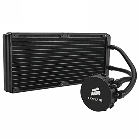 Corsair CW-9060014-WW Hydro Series H110 280mm Performance extrême All-In-One Liquid CPU Cooler