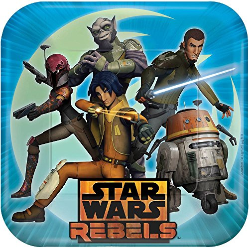 Star Wars Rebels Dinner Plates 8 Count