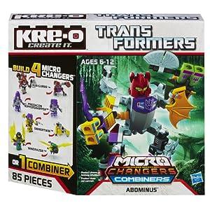 (新品)变形金刚 KRE-O Micro-Changers Combiners Abominus,A4473,仅仅$10.99
