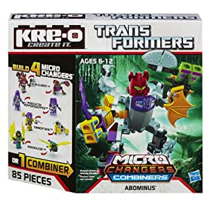 KRE-O Transformers Micro-Changers Combiners Abominus Construction Set (A4473)