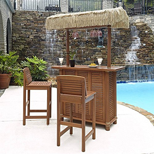 Home-Styles-5662-998-Bali-Hai-Tiki-Bar-and-Two-Stools-Eucalyptus-Finish