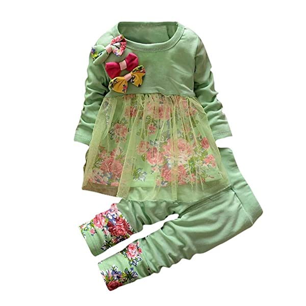 1a05158c3 Toddler Baby Girls Fall Winter Clothes Outfit 1-3 Years Old