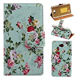 Kakashop Optimus L70 / L70 T-Mobile Colorful Painted Flowers Wallet Case Cover with Stand Function and Card Holder, Case for LG Optimus L70, Wallet Case for LG Optimus L70, L70 LG Optimus Case Leather Case Protective Case #3