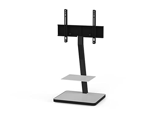 'Sonorous PL 2710 Wht HBLK TV Stands for 50 TV's