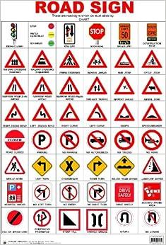 Road Sign Chart: India: Amazon.co.uk: 9788173013362: Books