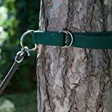 Tree Hugger Set of 2 Hammock Straps Eco Friendly Heavy Duty high-quality polypropylene straps for Hanging Hammock , Swings and Chairs