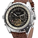 Forsining Men's Genuine Leather Automatic Wrist Watch JAG212M3S5