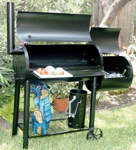 Best Backyard Smoker : Best Medina River Outdoors 66 Backyard Large SmokerGrill Combo
