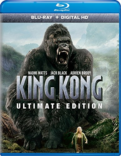 Blu-ray : King Kong (Ultimate Edition) (Ultimate Edition, Ultraviolet Digital Copy, Digital Copy, Digitally Mastered in HD, 2 Pack)