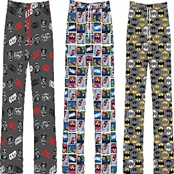 Mens Cosy Loungewear Pyjama Trousers Bottoms Pants - Star Wars Batman OR The Muppets available! THE MUPPETS - L
