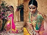 INDIAN TRADITIONAL DESIGNER PARTY WEAR SAREE SARI PARTY WEAR BRIDAL WEDDING