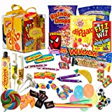 The Original Retro Sweets Gift Cube Box From Dandy Candy - The Perfect Gift For Everyone: Includes 70 Retro Sweets From Your Childhood Memories - Great Stocking Filler or Christmas Giftby Dandy Candy