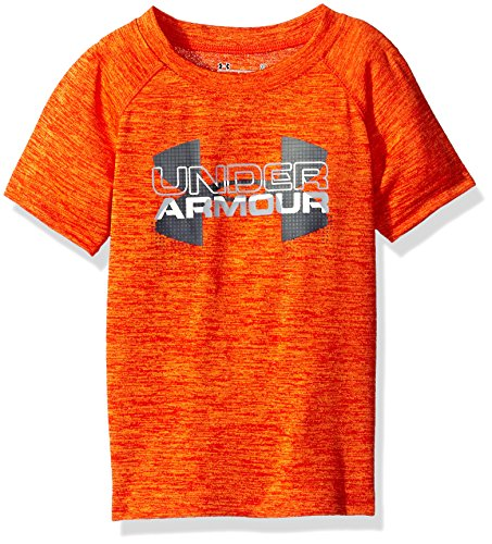 Under Armour Boys Big Logo Hybrid Short Sleeve Shirt