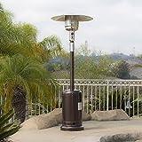 Bellezza© 48,000BTU Premium Patio Heater, Propane, CSA Certified, Hammered Bronze