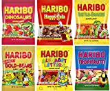 Haribo Gummi Kids Variety Pack (6 Bags)