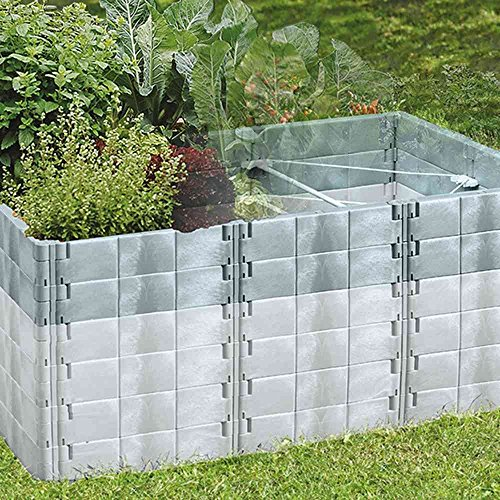 hochbeet aufbaus basalt 190x121x26cm. Black Bedroom Furniture Sets. Home Design Ideas
