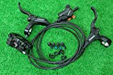 シマノ SHIMANO 油圧ディスクブレーキ BL-M395 BR-M395 160mmサイズローター対応 ローター無 ブラック 前後セット 自転車1台分
