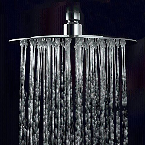 Extra Large Rain Shower Head Fixed Mount Ultra