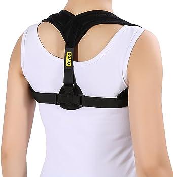Yosoo Adjustable Shoulder Posture Support Strap
