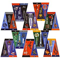 Buy NBA Basketball Mini-Pennant Set - Complete League Set by NBA