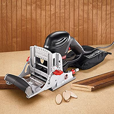 Craftsman 17539 6 Amp Corded Plate Jointer